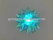With LED Lighting PET Ribbon Star Bow for Child Playing or Holiday Party Decoration