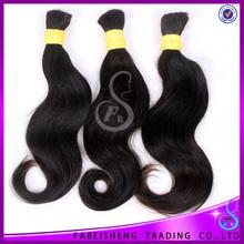 wholesale perfect of Brazilian human hair bulk, single drawn hair by the bulk hair weft