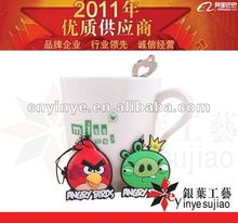 2012 new mobile phone charmings rubber for promo