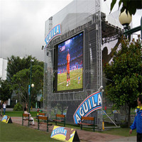 HD video full color electronic advertising board for outdoor used