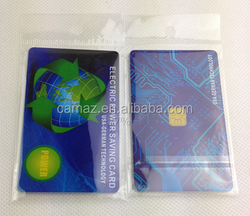 Electricity power saver card Reduces harmful electromagnetic radiation