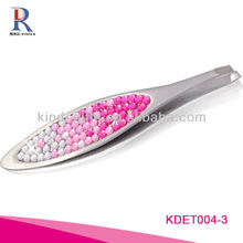 Wholesale Custom Logo Crystal Spring Tweezers For Promotional Gift