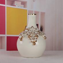 porcelain grapes decor galle vase 3 star ceramics supplier