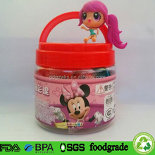 Free Samples Cylinder Plastic Container Food Grade,16 oz Empty Plastic Bottles Alibaba China