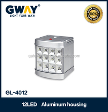 12V DC car charging, solar charging is available,mini portable emergency light, high power emergency camping lantern