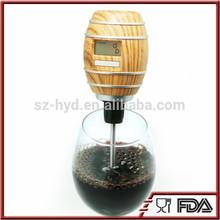 NT-SV06 classical design red wine decanter barrel shaped LED light wine aerator