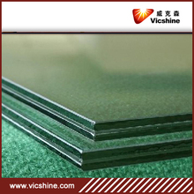 Clear PVB laminated glass , Qingdao 6.38mm Laminated glass manufacture