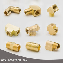 CNC processing competitive price hardware component nps pipe fitting