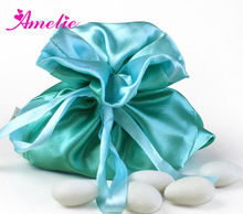 AT27 Pure Blue Unique Wedding Party Decorative Candy Bags