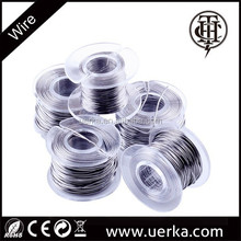 THC electronic cigarette round single twisted clapton wire, various awg wire with best price, a1 ni200