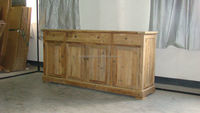 reproduction furniture Sideboard,antique rustic wooden sideboard,recycled wood furniture