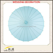 hot sale handmade bamboo fashion decorative umbrella for wedding decoration