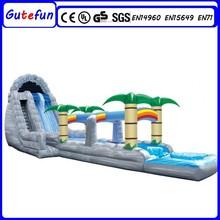 GUTEFUN EN 14960 cheap kids park customized commercial inflatable slip and slide