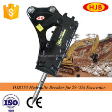 Long working life High Quality Excavator Rock Hammers, concrete demolition equipmentl for PC excavators