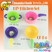 China plastic toys mini cooking tool toys kitchen toys plastic pot