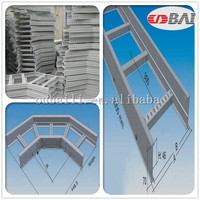 Factory Specializing SS316L Ladder Type vertical bends HDG Stainless steel Cable rack