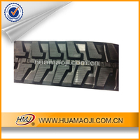 Construction machinery parts excavator rubber track for sale