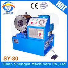 factory! SY-80 excavator hose crimping machine/air pipe crimper/oil hose clamp machine