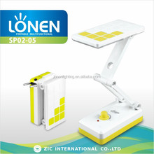LONEN pure white 14SMD dimmable led desk lamp, portable luminaire table lamp