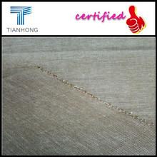 Tejido de algodón de cambray de tela de mezclilla / varios colores opcionales Chambray tela