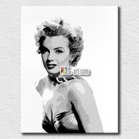 Wall art pop art Marilyn Monroe painting