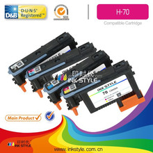 Remanufactured for HP-70 Printer head for HP Designjet Z2100 Z3100 Z3200 refill ink cartridge