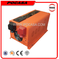 24V 12VDC to 24VAC 1000W Power Inverter with Charger