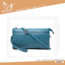 Fashion cheap lady hand bags and latest fashionable women clutch bag
