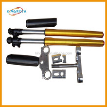 2015 hot sale yellow dirt bike suspension front fork for 735mm