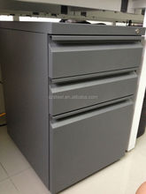 High quality file cabinet under desk/ steel pedestal/ steel office furniture
