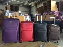 Universal mute wheels vintage royal trolley luggage / travel case