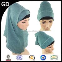 GDHH0030 Tideway temperament women scarf,muslim head covering scarf, two-pieces set hijab scarf