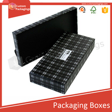 Custompackagings tie packaging boxes window