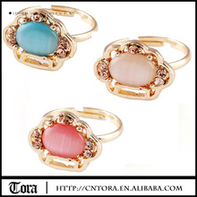 Christmas Gifts Wholesale Jewelry Opal Ring Gemstone