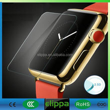 For apple watch Anti glare anti shock anti-fingerprint tempered glass screen protector film for sale