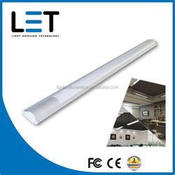led linear light 20W 1600lm dimmable 5000k batten tube light led HONGLI/MASON leds 1500mm 1200mm led linear lighting