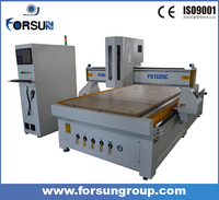 Discounted CNC engraving machine used in furniture manufacturing, cnc router metal cutting machine