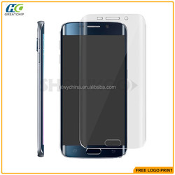 2015 for Samsung S6 Edge Tempered Glass, for Samsung S6 Edge Tempered Glass Screen Protector, 9H for Samsung Tempered Glass