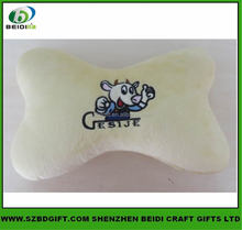 Embroidery car cushion pillow and bone shape neck pillow