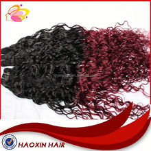 Cheap Kinky Curly Remy Hair Weaving 99j