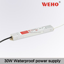 Different types 30w waterproof single output 2.5a 12v power supply led driver module