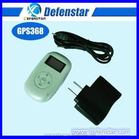 600mAh white two way communication rechargeable sim card personal /pets gps tracker with sos