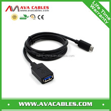 New arrival! High speed USB TYPE C TO USB 3.0 A/ F cable with shielding
