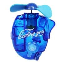 electric mini water spray hand fans ,handle fan