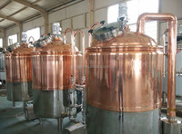 CG-3HL of Copper beer brewery equipment CE,ISO9001:2008