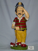 resin golf statue for home decoration,pakistani home decoration,Personalized Handmade Novelty Resin Golf Statue