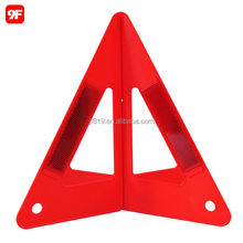2015 safety warning triangle car reflective triangle