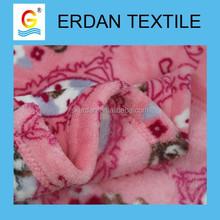 good emboridery hot sale baby knitted coral fleece blanket