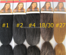 2015 new arrival Expression Braiding Hair/Kanekalon Synthetic Hair/Super Jumbo Braid wholesale price