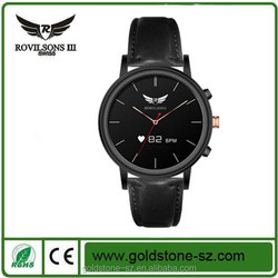 2015 newest unqiue professionally-manufactured smart watch with heart rate monitor